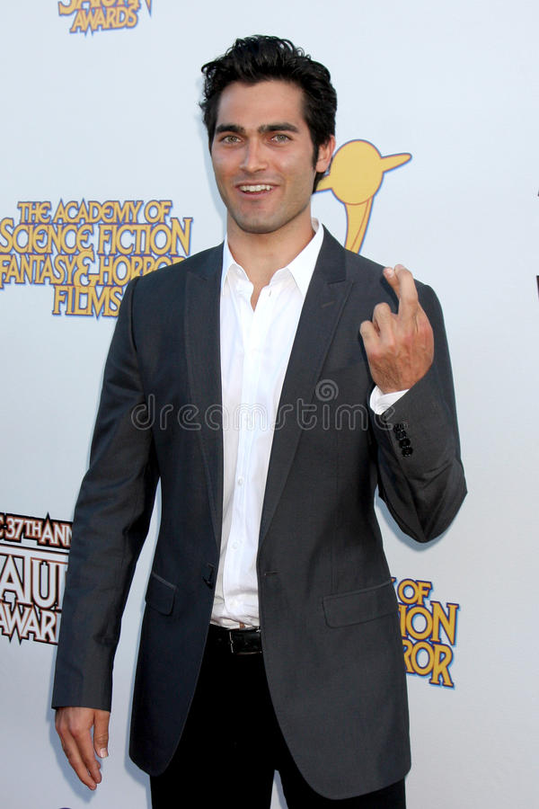 Tyler Hoechlin royalty-vrije stock foto's