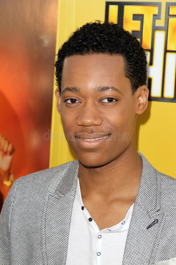 Download Tyler James Williams Arriving At The Premiere Of Disney Channel's Editorial Photography - Image: 25673762