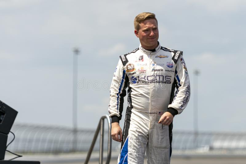 Tyler Reddick Driver Introduction stockfoto