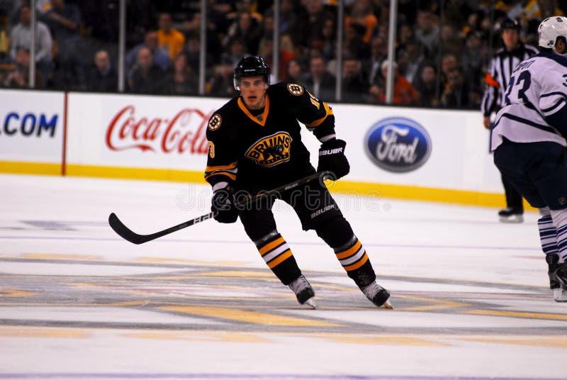 Tyler Seguin, Boston Bruins forward. Action shot of Tyler Seguin, #19, the #2 pick in the 2010 NHL draft stock photo