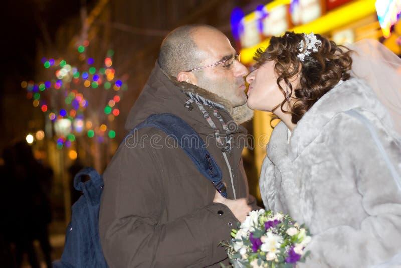 tylko żonatych młodych par zdjęcie royalty free