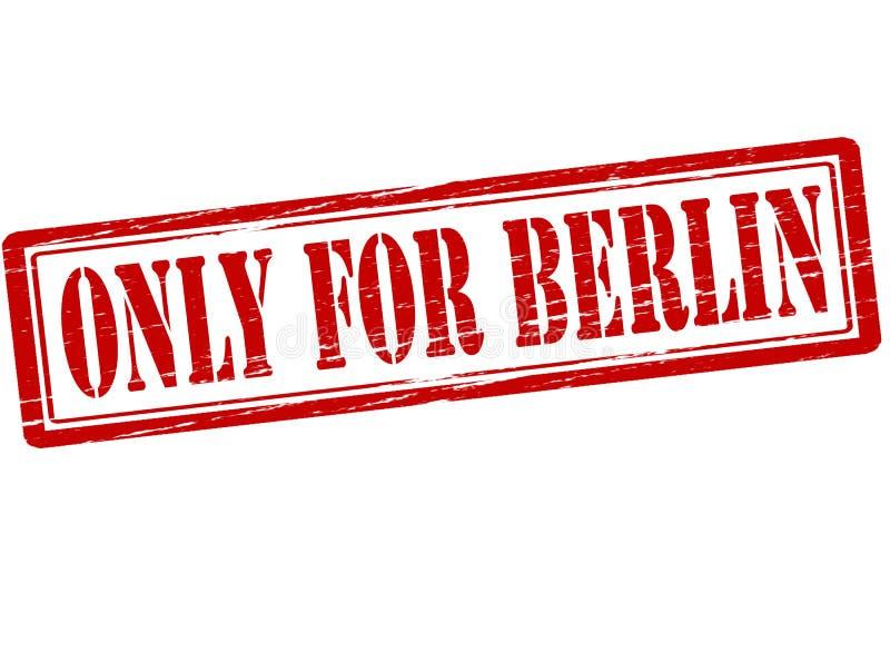 Tylko dla Berlin ilustracja wektor