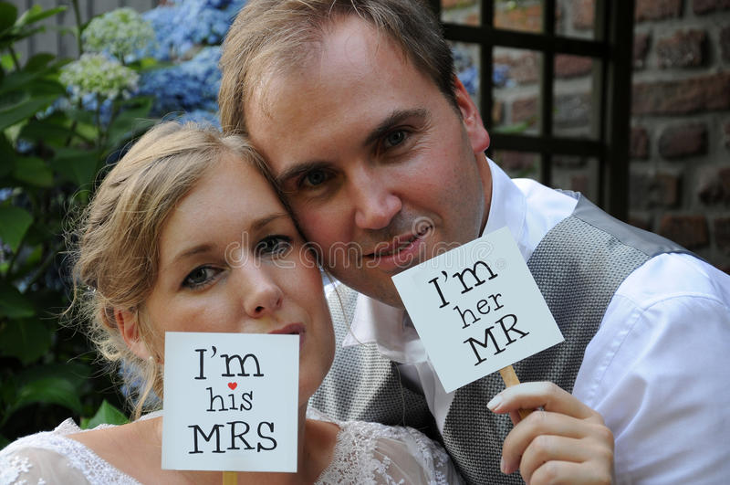 tylko para za mąż obrazy royalty free