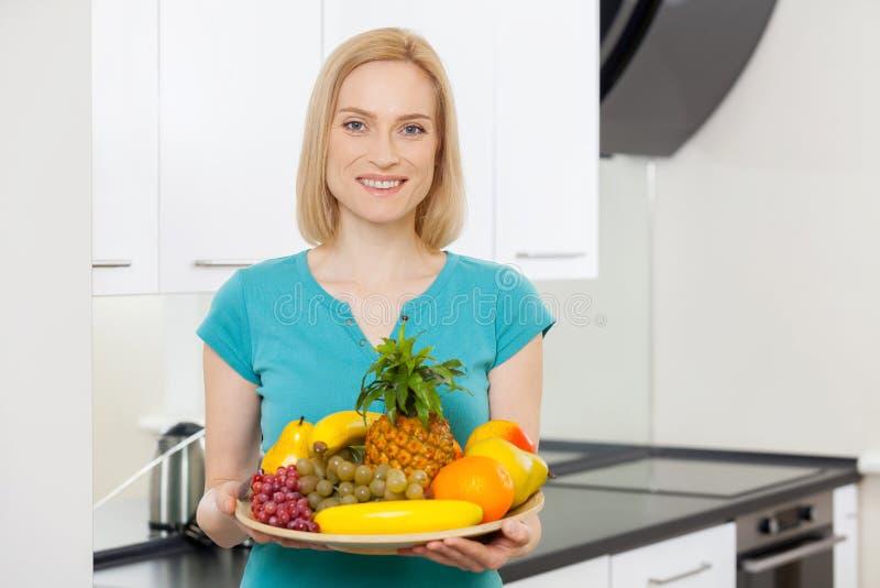 Tylko zdrowy jedzenie. obraz royalty free