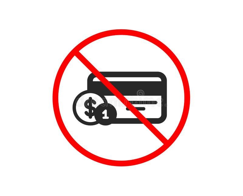 tylna karty kredyta przodu ikony strona Zap?aty karta z monetami wektor ilustracji