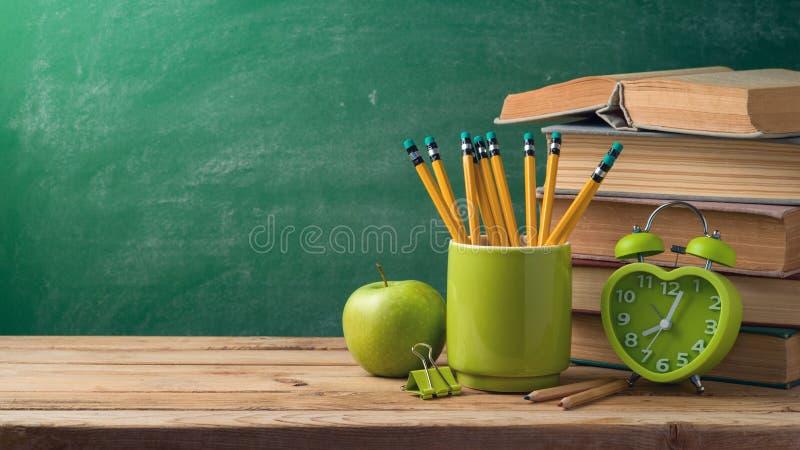 tylna koncepcji do szkoły zdjęcie royalty free