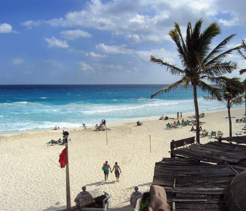 tylna plaża zdjęcie royalty free