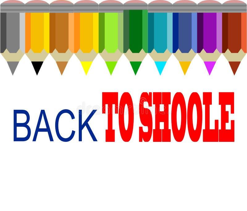 Download Tylna szkoły ilustracji. Ilustracja złożonej z wiadomość - 57650979