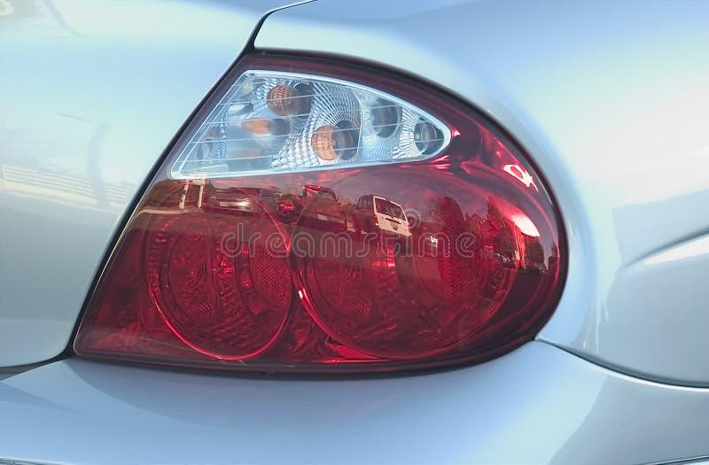 tylne światło samochodu zdjęcie royalty free