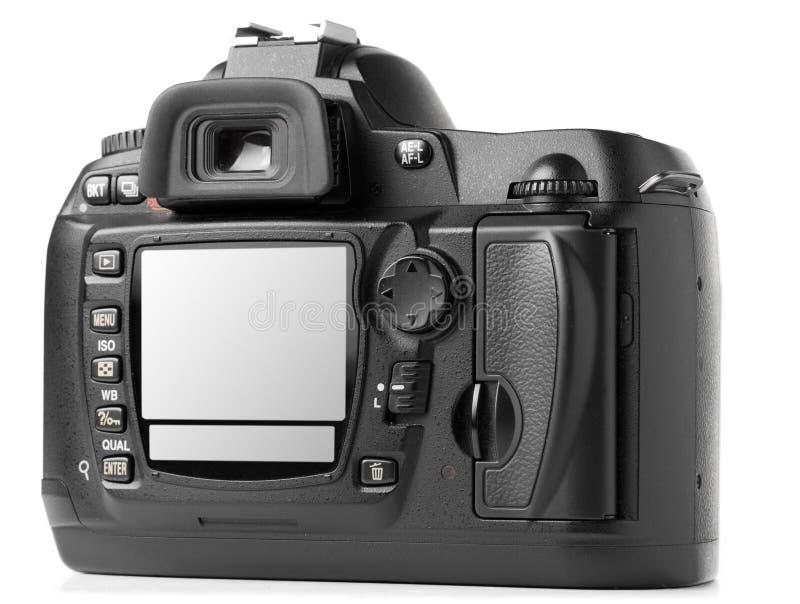 tylnej kamery cyfrowy fotografii profesjonalista fotografia stock