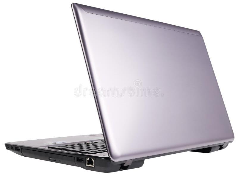 Download Tylni laptopu widok zdjęcie stock. Obraz złożonej z wyposażenie - 24648820