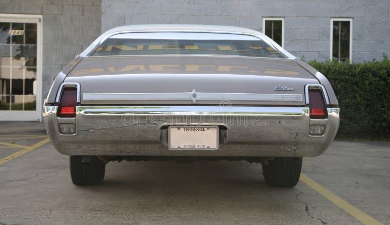 Tylni widok Najwyższy Oldsmobile kord fotografia royalty free