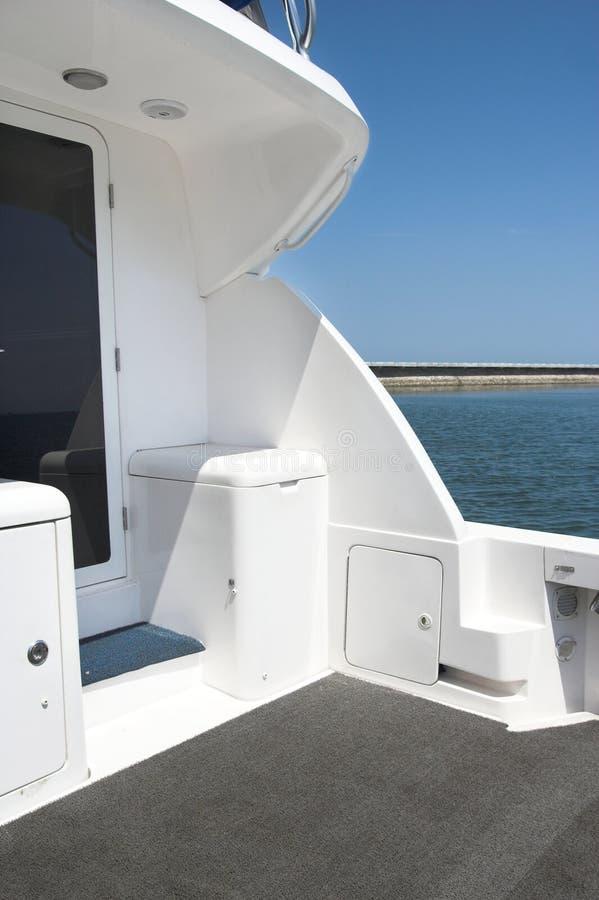 tylny jacht zdjęcie royalty free