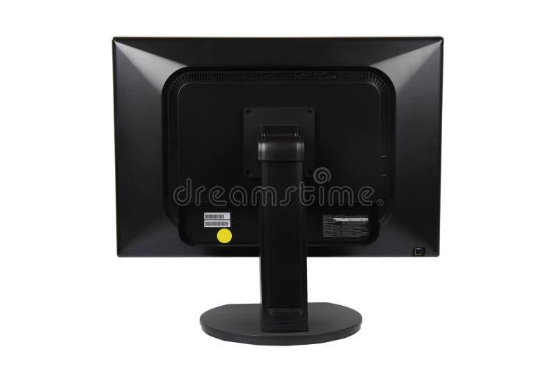 tylny komputeru lcd monitor zdjęcia royalty free