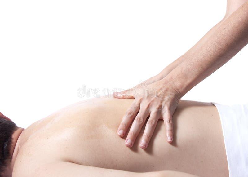 tylny masaż obrazy stock