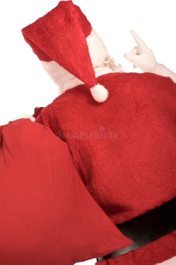 tylny s Santa fotografia royalty free
