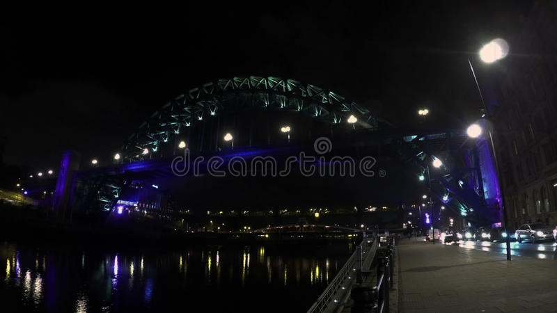 Tyne Bridge stock footage