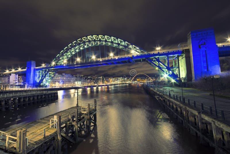 Tyne Bridge Newcastle fotografia de stock