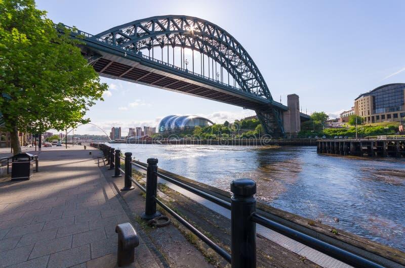 Tyne Bridge, Newcastle nach Tyne stockfoto