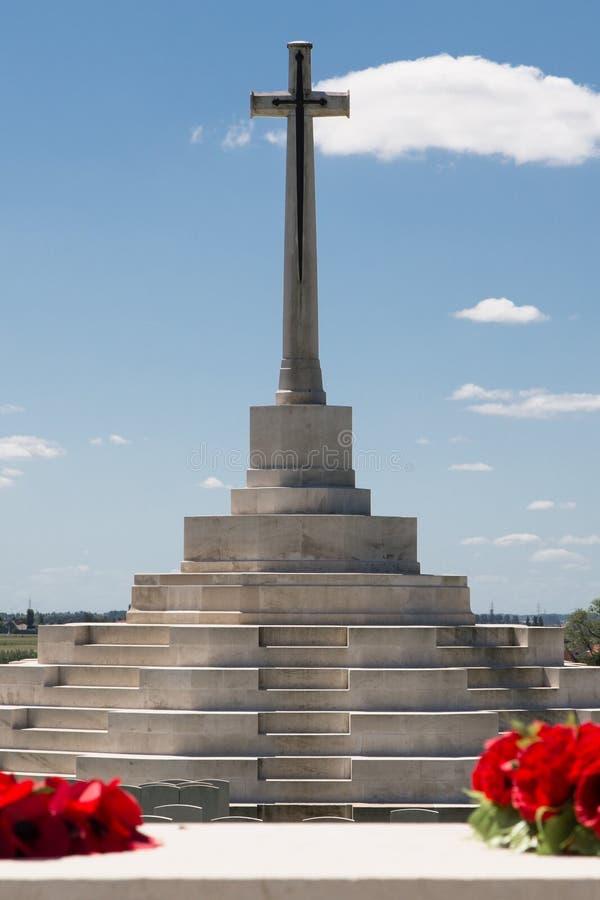 Tyne Cot Cemetery imagens de stock royalty free