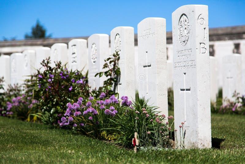 Tyne Cot Cemetery imagem de stock royalty free