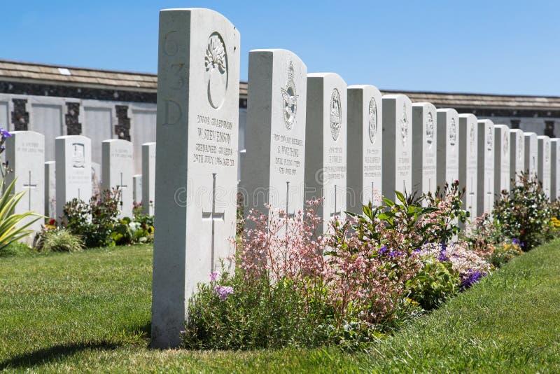 Tyne Cot Cemetery fotos de stock