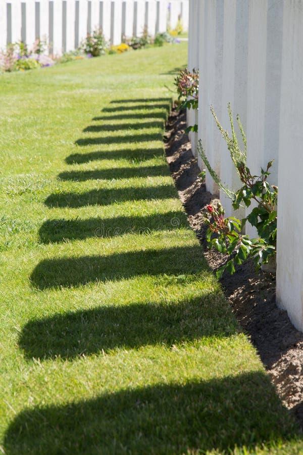 Tyne Cot Cemetery foto de stock