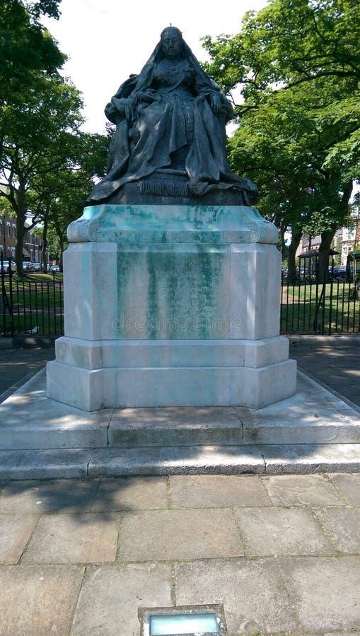 Tynemouth staty royaltyfri foto