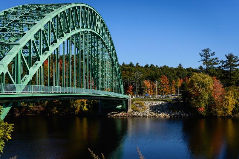 The Tyngsborough Bridge stock photo