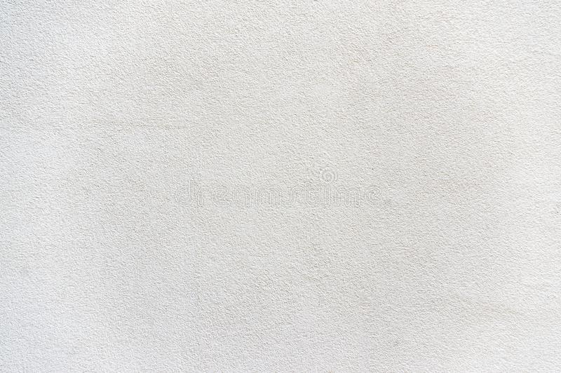 Tynk budynek w równinie i uciszający biel z szorstkim tynkiem obrazy stock