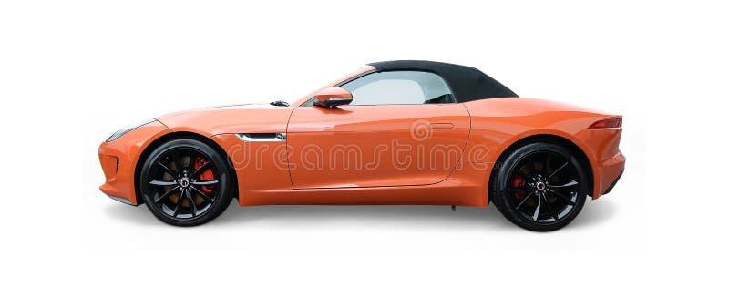 Typ Jaguars F stockbilder