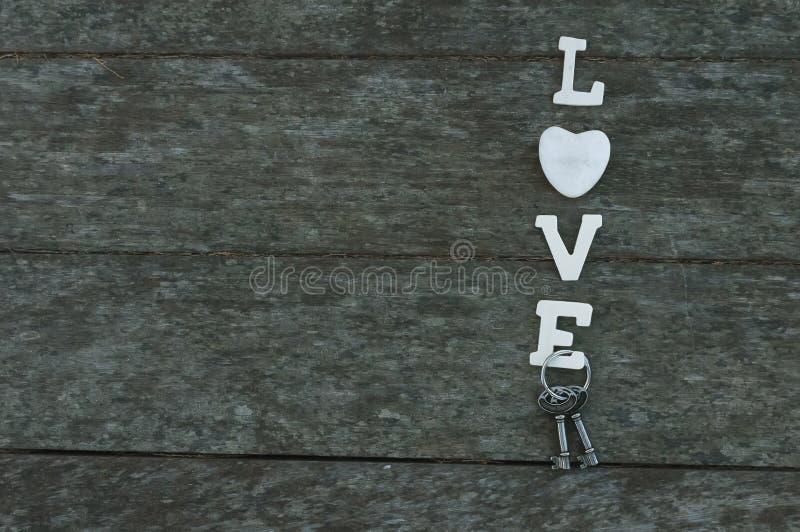 typ på måfå ord för förälskelse för bakgrundsgrungeboktryck arkivfoto