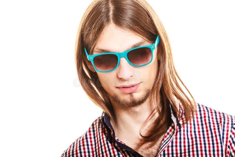 Type à la mode beau de jeune homme images libres de droits