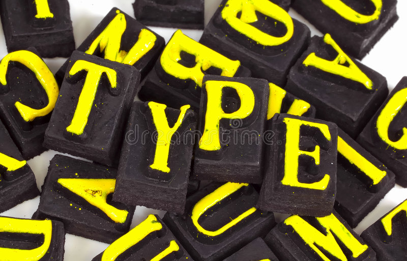 Type stock images