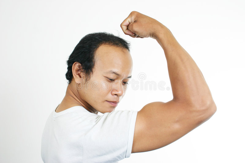 Type 5 De Muscle Photos libres de droits