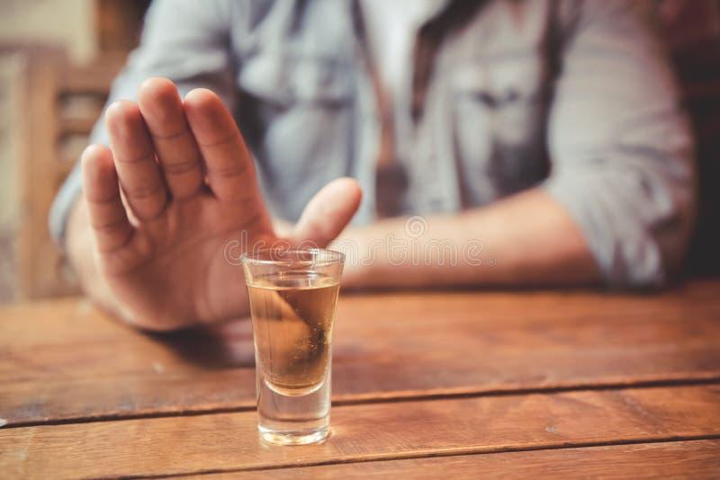 Type au bar photos libres de droits