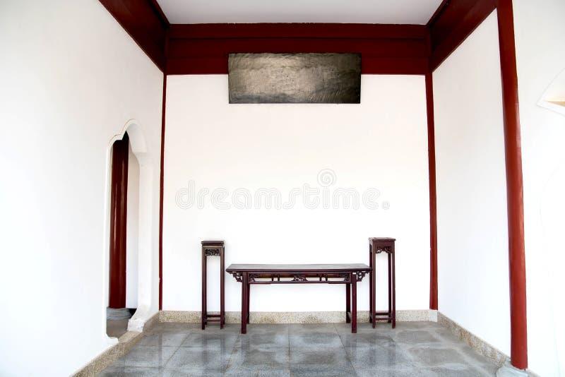 type chinois de salle de séjour images libres de droits