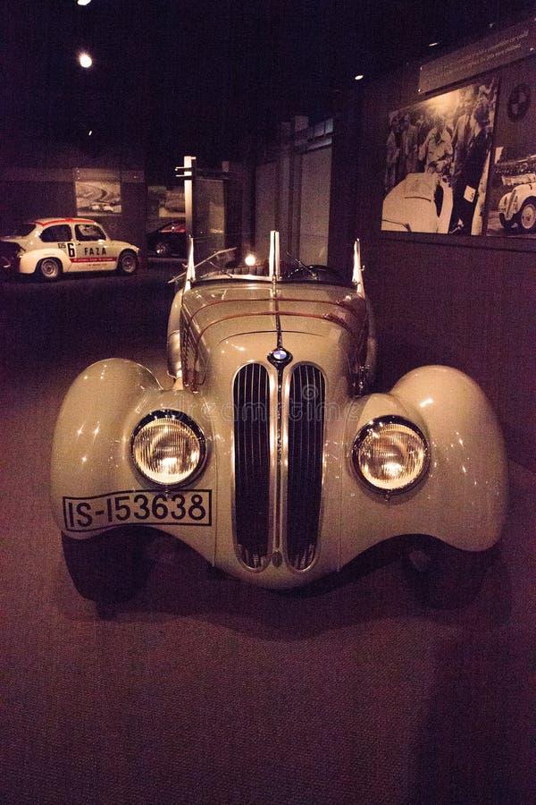 Type 1938 de BMW de gris 328 image libre de droits
