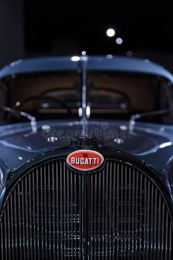 Type 1936 de Bugatti 57SC Océan atlantique images libres de droits