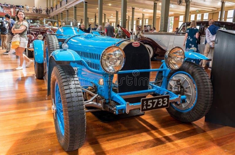Type 1938 de Bugatti voiture de sport de 57c chez Motorclassica photos libres de droits