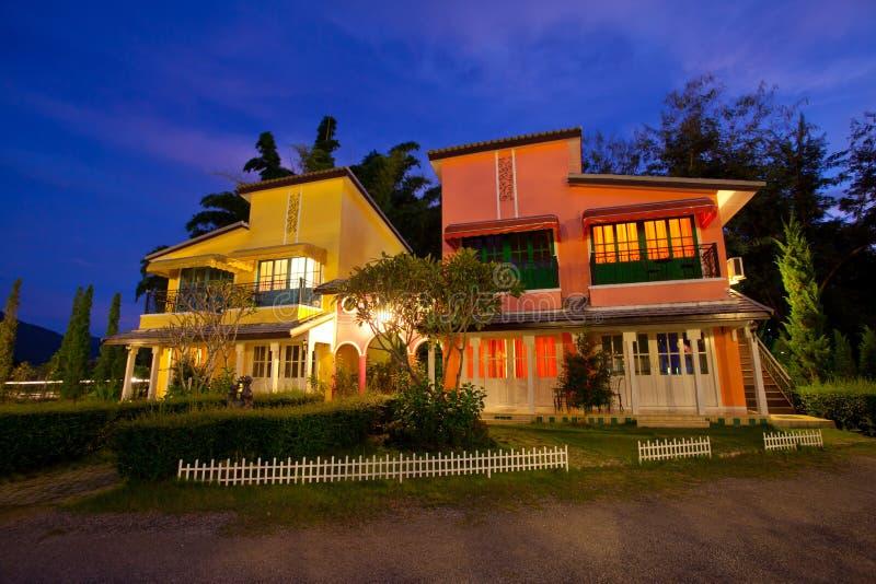 Type de maison de l'Italie photo stock