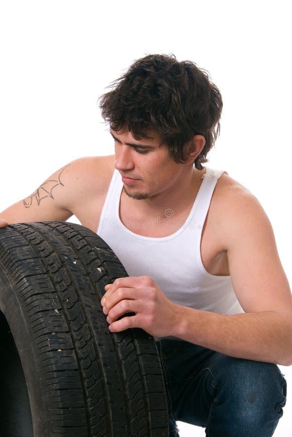 Type de pneu images libres de droits
