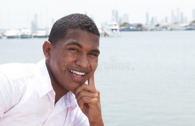 Type des Caraïbes attirant dehors photos stock