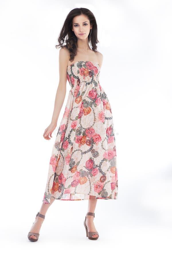 Type Et Elegancy - Pose Femelle élégante Images libres de droits