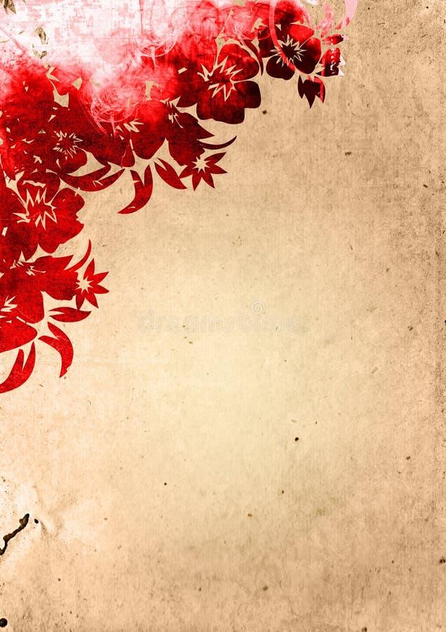 type floral de milieux illustration libre de droits