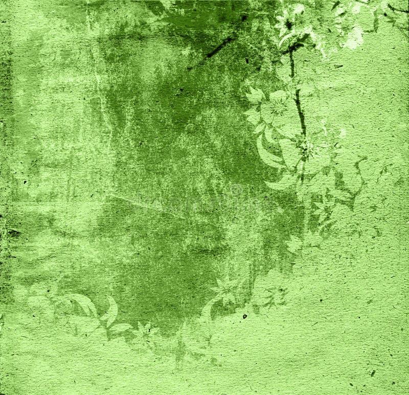 type floral de milieux illustration de vecteur