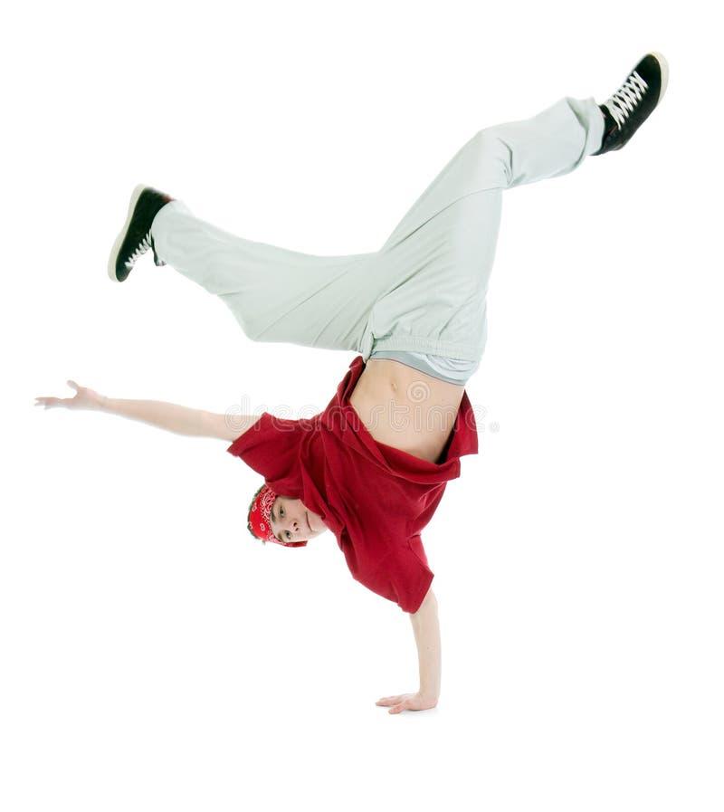 Type frais dancer.breakdance d'houblon de gratte-cul photo libre de droits