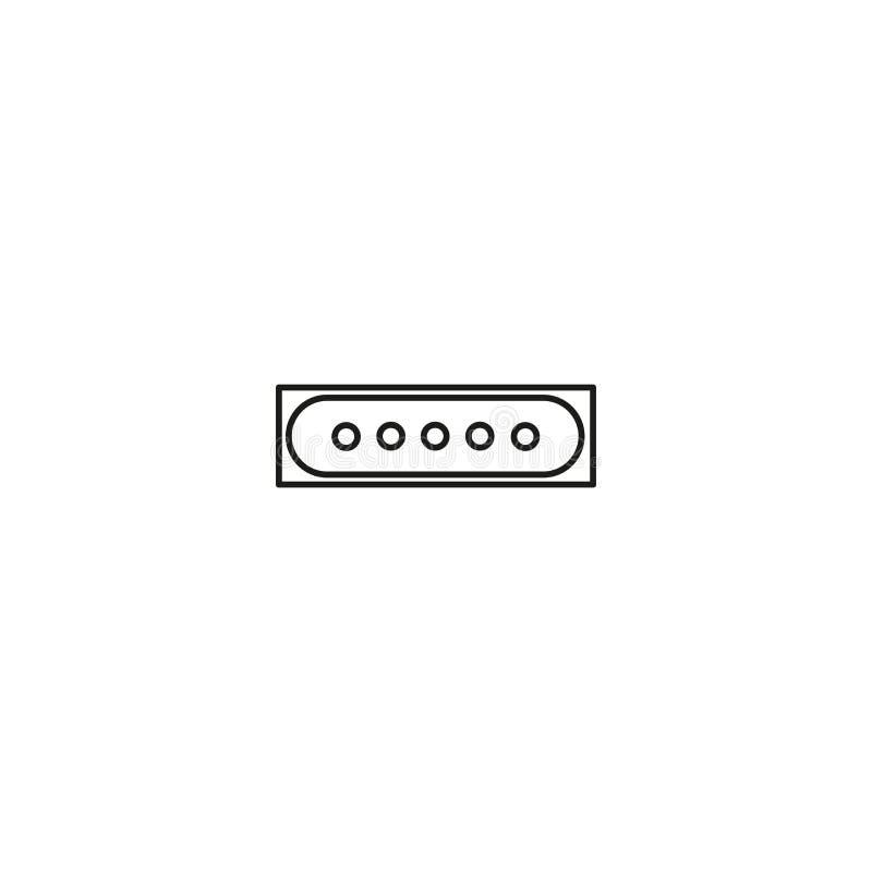 type icône de mot de passe illustration stock