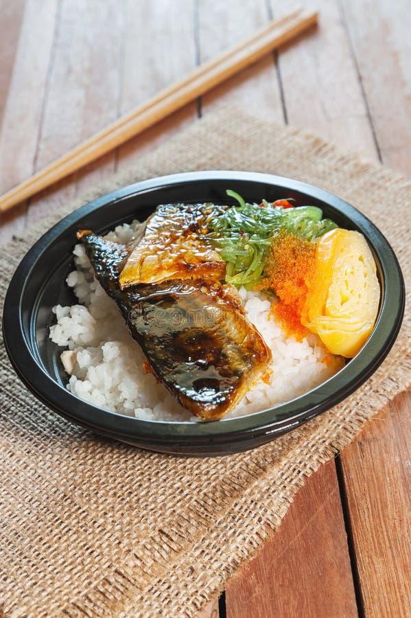 Type japonais de nourriture photo stock
