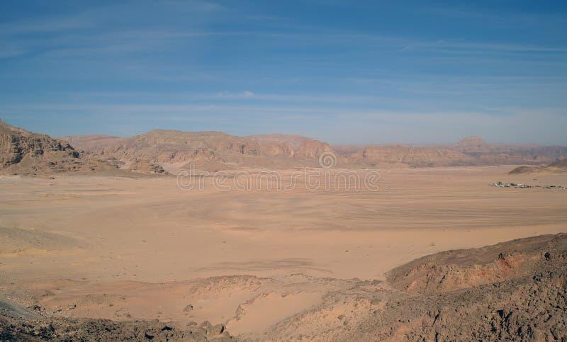 Type op woestijn royalty-vrije stock afbeelding